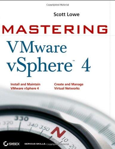 9780470481387: Mastering VMware vSphere 4 (Computer/Tech)