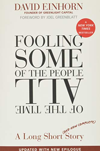 9780470481547: Fooling Some of the People All of the Time: A Long Short (and Now Complete) Story, Updated with New Epilogue