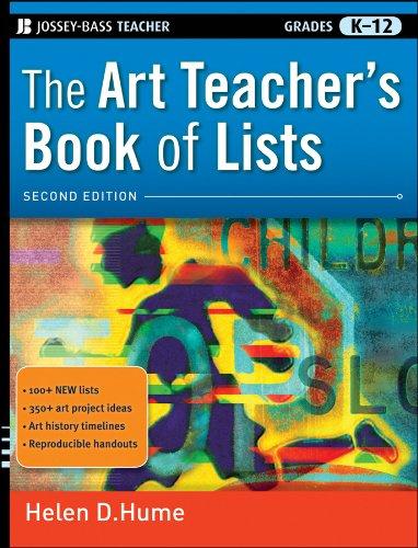 9780470482087: The Art Teacher's Book of Lists: Grades K-12 (J-B Ed: Book of Lists)