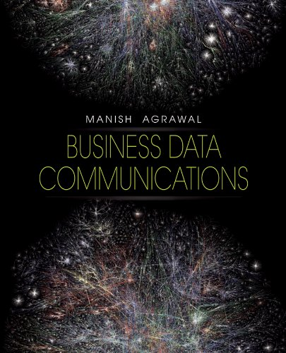 Business Data Communications: Manish Agrawal
