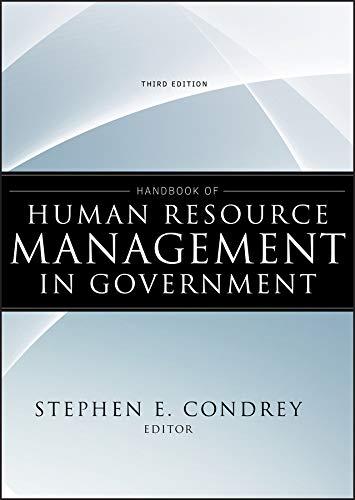 9780470484043: Handbook of Human Resource Management in Government