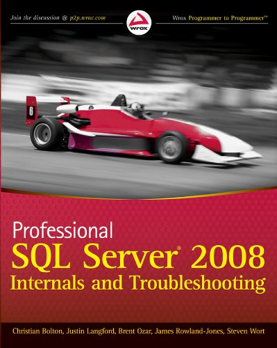9780470484289: Professional SQL Server 2008 Internals and Troubleshooting