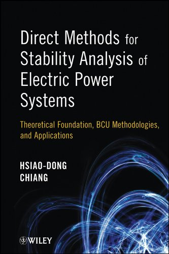 Direct Methods for Stability Analysis of Electric: Hsiao-Dong Chiang