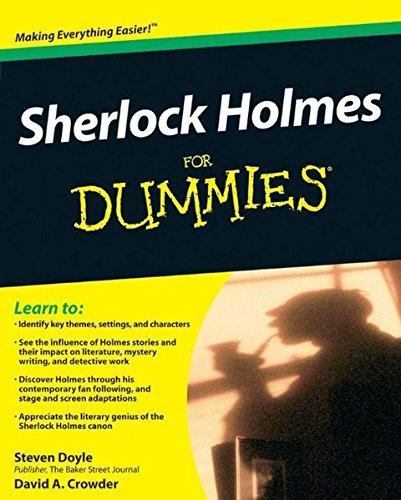 9780470484449: Sherlock Holmes For Dummies