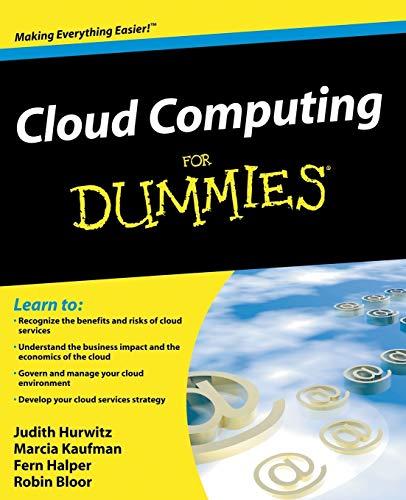 9780470484708: Cloud Computing For Dummies