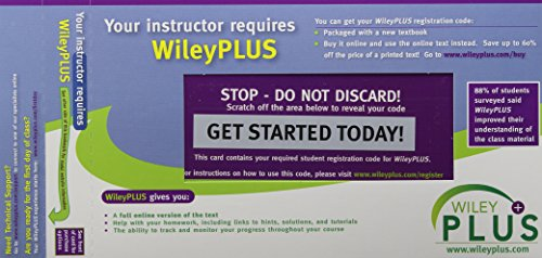 WileyPlus Stand-alone to accompany CATALYST for Introductory Chemistry: Online Mastery Learning ...