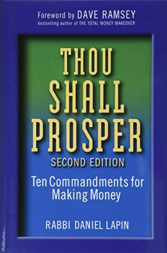 9780470485880: Thou Shall Prosper: Ten Commandments for Making Money
