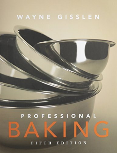 Professional Baking 5th Edition College Version w/CD-ROM with Study Guide Method Cards 1st ...