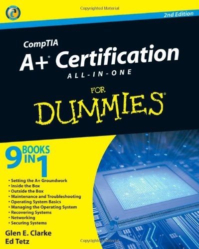 9780470487389: CompTIA A+ Certification All-In-One For Dummies