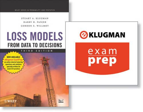 9780470487433: Loss Models: From Data to Decisions (+ ExamPrep Set) (Wiley Series in Proability and Statistics)