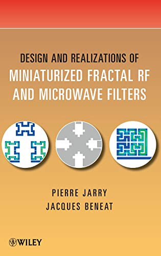 9780470487815: Design and Realizations of Miniaturized Fractal Microwave and RF Filters
