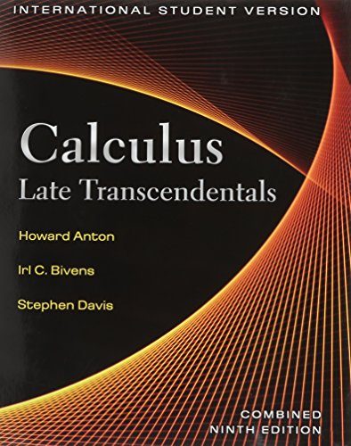 9780470487976: Calculus, Late Transcendentals Combined