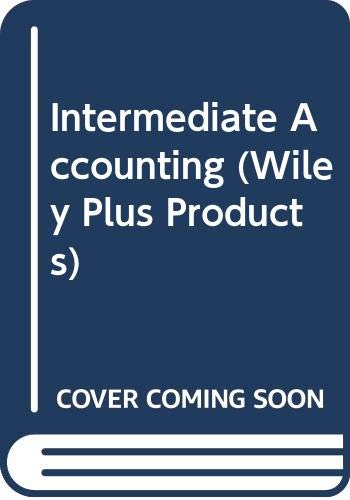 9780470487983: Intermediate Accounting (Wiley Plus Products)