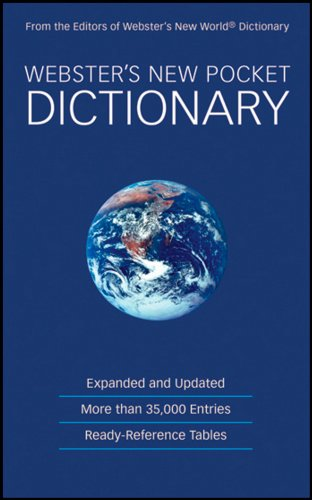 Download Webster's New Pocket Dictionary