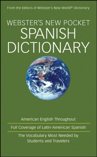 Webster's New Pocket Spanish Dictionary: From the Editors