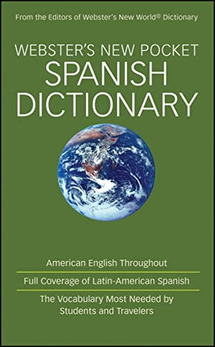 9780470488720: Webster's New Pocket Spanish Dictionary
