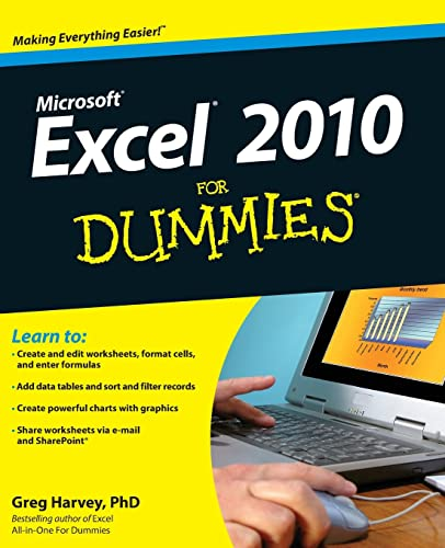 9780470489536: Excel 2010 For Dummies