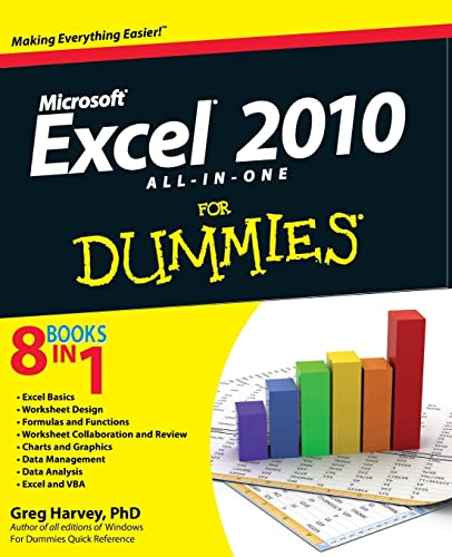 9780470489598: Excel 2010 All-in-One For Dummies