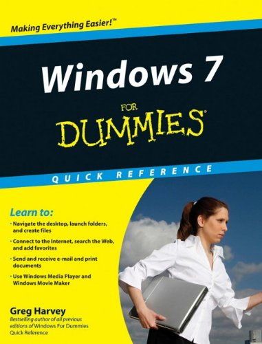 9780470489611: Windows 7 for Dummies Quick Reference