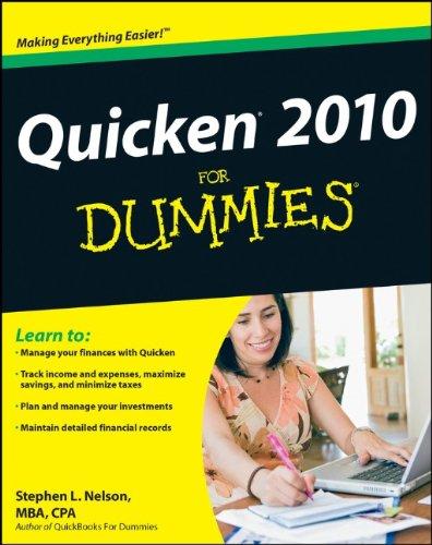 9780470490020: Quicken 2010 For Dummies