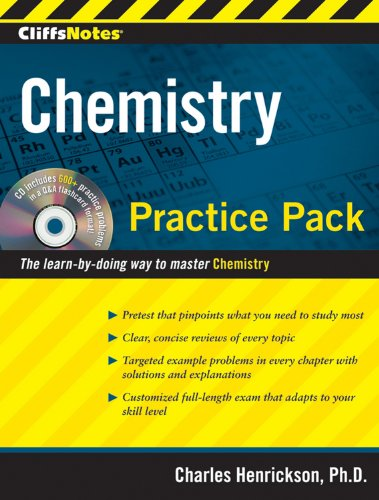 9780470495957: CliffsNotes Chemistry Practice Pack