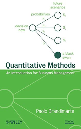 9780470496343: Quantitative Methods: An Introduction for Business Management