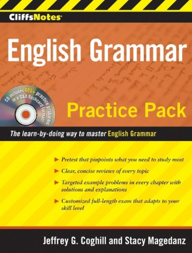 9780470496398: CliffsNotes English Grammar Practice Pack (CliffsNotes (Paperback))