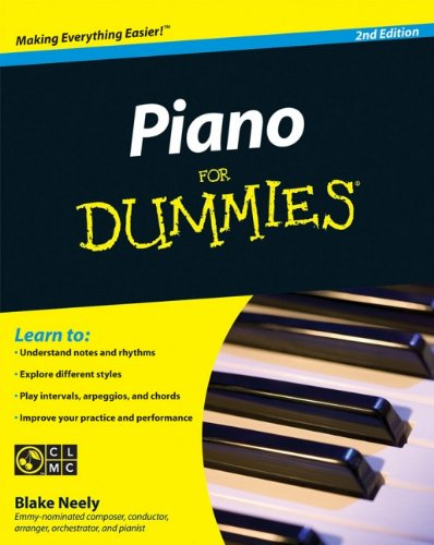 9780470496442: Piano For Dummies