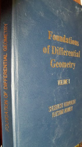 9780470496473: Foundations of Differential Geometry, Volume 1 (Pure and Applied Mathematics: A Wiley-Interscience Series of Texts, Monographs and Tracts)