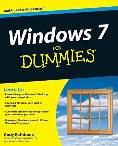 9780470497432: Windows 7 for Dummies