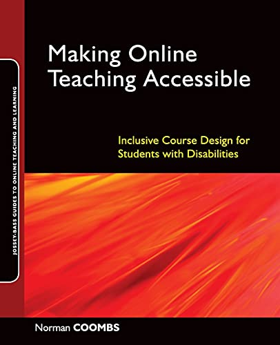 9780470499047: Making Online Teaching Accessible: Inclusive Course Design for Students with Disabilities