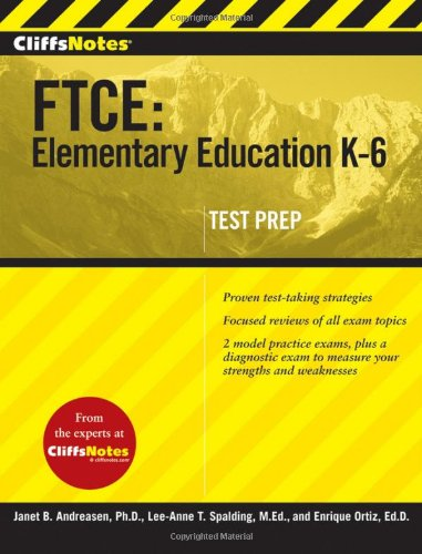 9780470499061: CliffsNotes FTCE: Elementary Education K-6