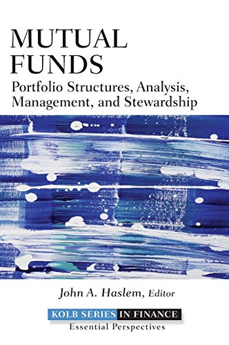 9780470499092: Mutual Funds: Portfolio Structures, Analysis, Management, and Stewardship (Robert W. Kolb Series)
