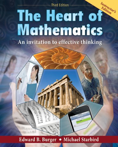 9780470499511: Heart of Mathematics 3rd Edition Instructor's Edition