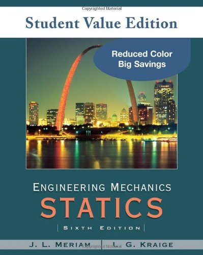 9780470499771: Engineering Mechanics: Statics: 1