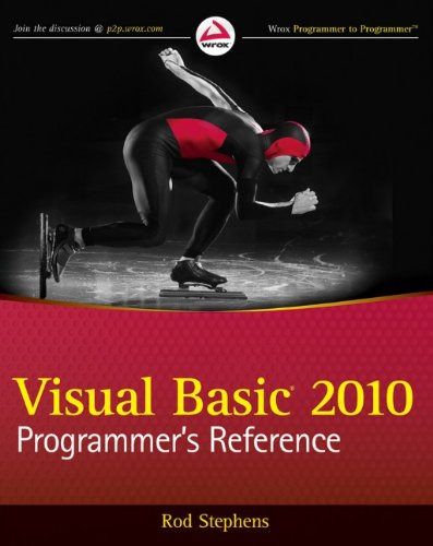 9780470499832: Visual Basic 2010 Programmer's Reference