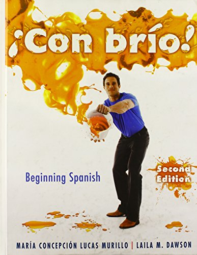 9780470500620: Con brio! Beginning Spanish (Spanish Edition)