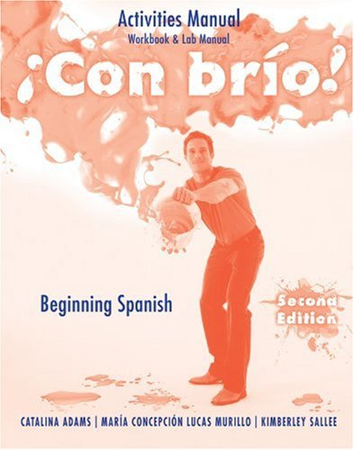 9780470500637: ?Con br?o!: Activities Manual (Workbook & Lab Manual) (Spanish Edition)