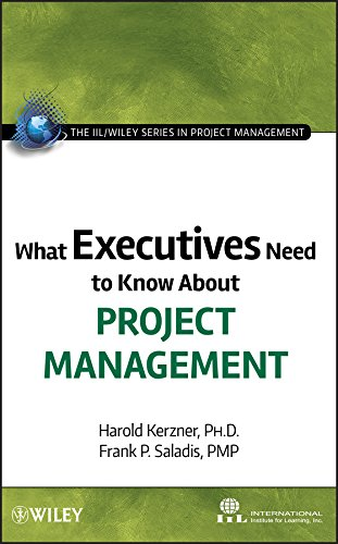 9780470500811: What Executives Need to Know about Project Management (IIL/Wiley Series in Project Management)