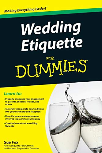 9780470502082: Wedding Etiquette For Dummies