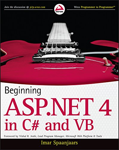 9780470502211: Beginning ASP.Net 4: In C# and VB (Wrox Programmer to Programmer)