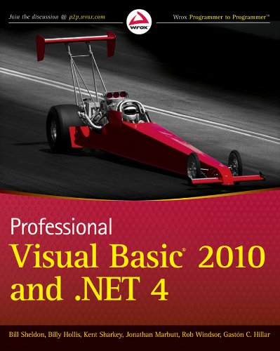 9780470502242: Professional Visual Basic 2010 and .NET 4