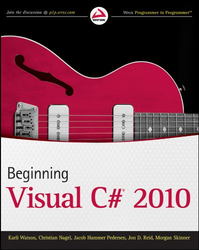 9780470502266: Beginning Visual C# 2010