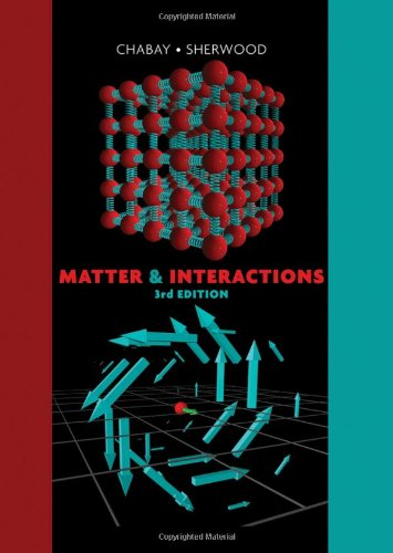 9780470503478: Matter and Interactions