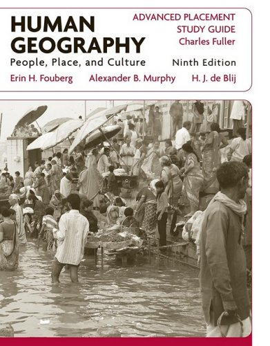 9780470503614: Human Geography: People, Place, and Culture: Advanced Placement Study Guide