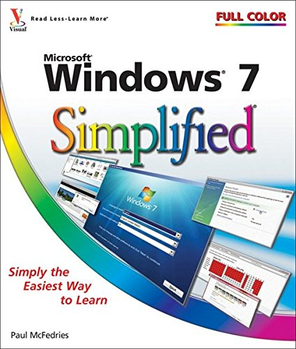 9780470503874: Windows 7 Simplified