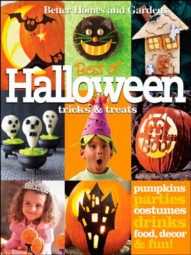 9780470503966: Better Homes and Gardens Best of Halloween Tricks & Treats