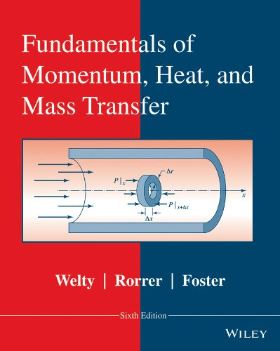 Fundamentals of Momentum, Heat and Mass Transfer: Welty, James; Rorrer,