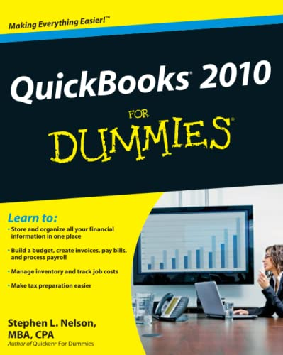 QuickBooks 2010 For Dummies (0470505354) by Nelson, Stephen L.