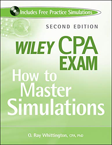 9780470505373: Wiley CPA Exam: How to Master Simulations